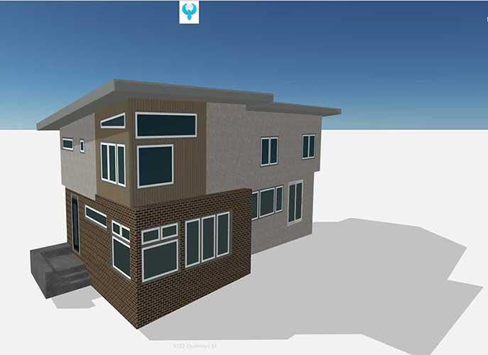 3D Home Exterior