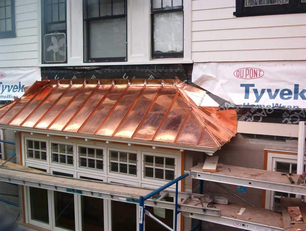Copper Roofing Installation