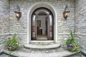 Custom Home Entryway Installation